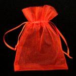 Roter Geschenkbeutel